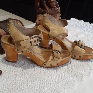 Frye  heels.